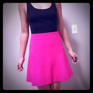 Hot Pink Skirt from Express